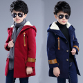 2016 new children's clothing children's autumn and winter coat woolen coat coat long section of Korean wave