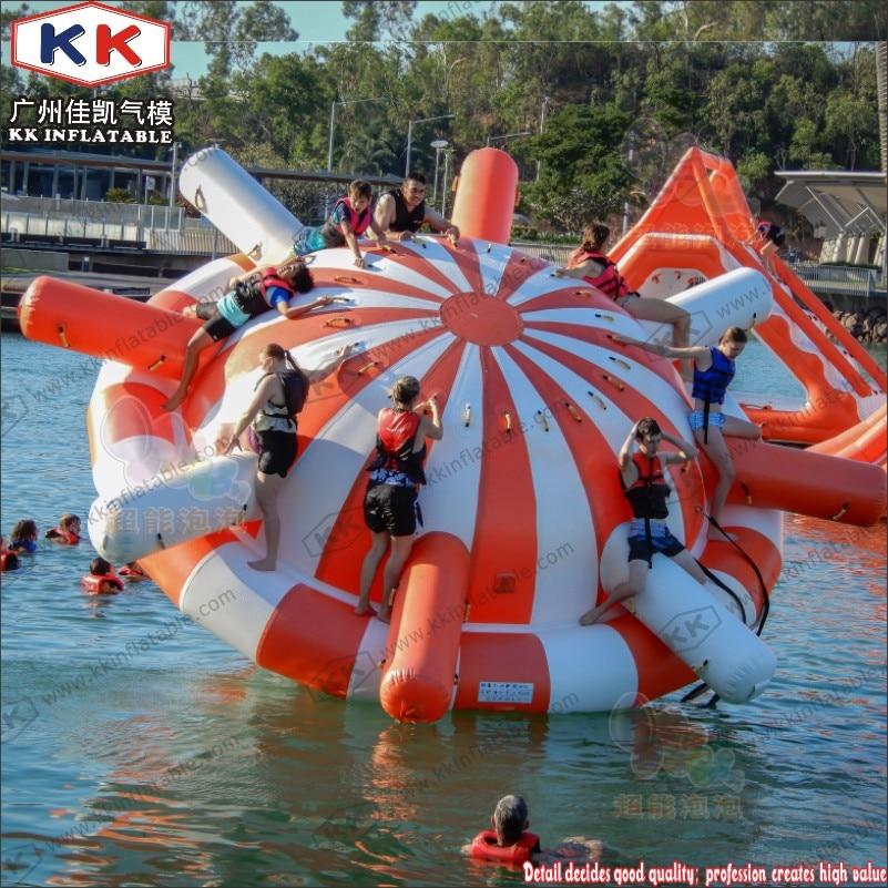 Gyroscope gonflable populaire de leau de parc aquatique de 8-12 personnes pour des enfants et ladulteGyroscope gonflable populaire de leau de parc aquatique de 8-12 personnes pour des enfants et ladulte