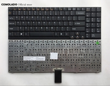 US English Keyboard For Clevo D9 D90 D900 D900C Series black laptop keyboard US Layout laptop keyboard with back light for clevo p370sm p170sm black us series 6 80 p17s0 010 3 v132150bk3