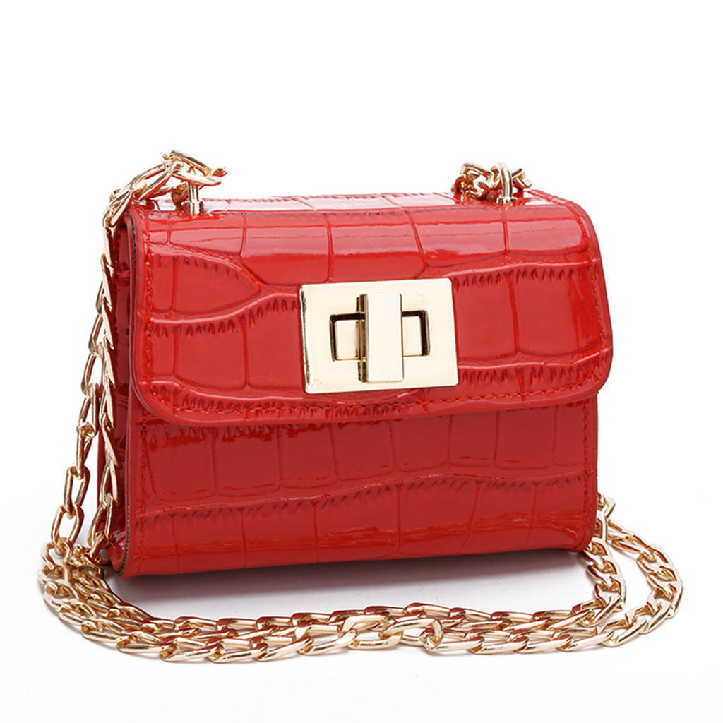 Women Children Shoulder Bag Fashion Chain Diagonal Crossbody Bag  Phone Coin Bags sac a main purses and handbags Платье