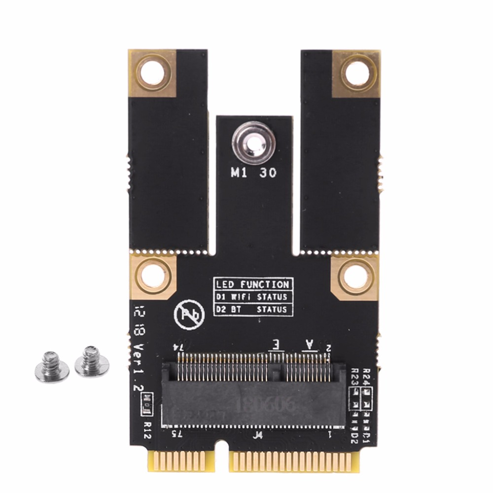 1 Satz M.2 Ngff Taste Ein Zu Mini Pci-e Adapter Pci Express Wireless Wifi Karte Adapter High Speed Add-on Karten