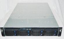 8 disk hot plug /2U industrial chassis rack NVR/KTV karaoke machine chassis