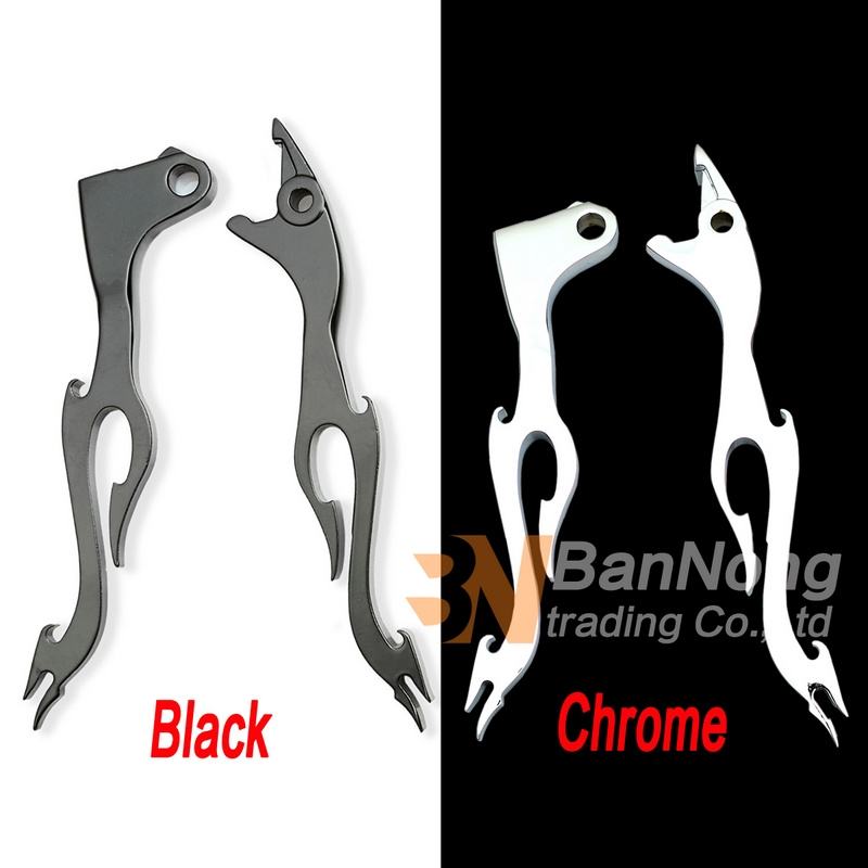 Motorcycle Brake Clutch Flame Levers For Honda VT 750 1100 Shadow 600 Spirit Magna 750  VTX1300 VT1100C2  CBR600 F1 F2 F3 F4 F4i