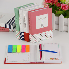 Novelty Creative Kawaii Mini Memo Pad Comes With Ballpoint Pen Notepad Give Their Children The Best Learning Stationery 1pcs 2pcs lot loose leaf memo pads novelty words cards creative constellation notepad vocabulary cards for learning kawaii stationery