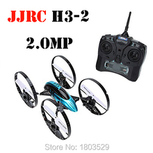Free shipping JJRC H3-2 RC drone HD camera for aerial photo helicopter 4 axi with LED light Quadcopter VS SYMA x8w V686 best toy