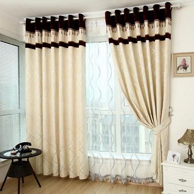 Compra chenille tela de la raya online al por mayor de for Cortinas dormitorio modernas