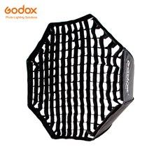 """Godox Portable 120cm 47 """"nid dabeille grille octogone parapluie Softbox Photo Softbox réflecteur pour Flash Speedlight"""