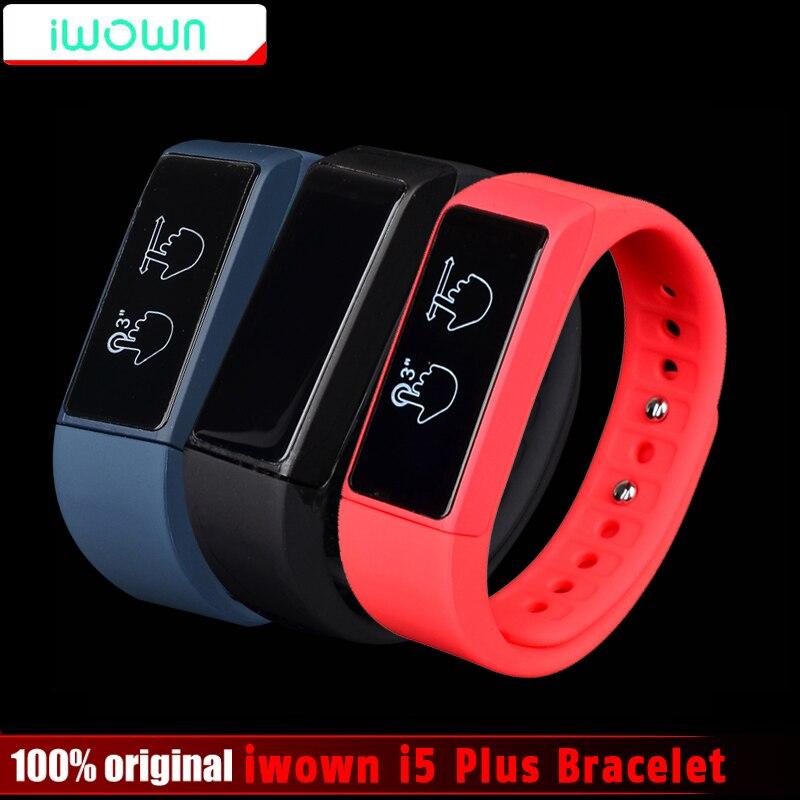 Original iwown i5 Plus Smart Bracelet i5plus Wristband Bluetooth 4.0 Activity Tracker Smart Band Passometer Sleep Monitor