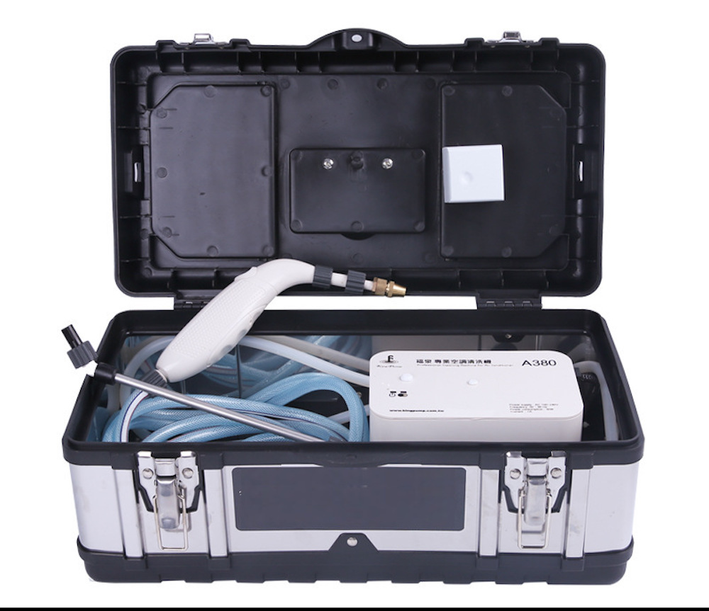 Nettoyage climatiseur nettoyage bricolage ménage lavage outils climatiseur nettoyeur Machine Global AC100-AC240V