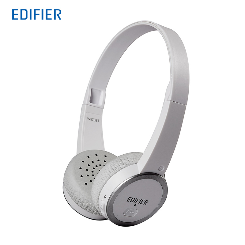 EDIFIER W570BT Bluetooth Headphones Wireless Earphone Headset For Phone Music Sport Gaming remax 2 in1 mini bluetooth 4 0 headphones usb car charger dock wireless car headset bluetooth earphone for iphone 7 6s android