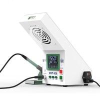 Multi funcational 3 светодио дный 1 LED light поглотитель дыма для паяльных работ паяльная станция