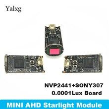 "1080 P Mini AHD/TVI/CVI/CVBS 4 IN 1 Home Kamera Modul Kit 2MP Sternenlicht Mini kugel Kamera Bord 1/2. 8 ""Sony IMX307 Kamera Modul"