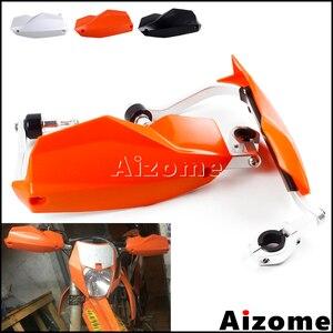 "Image 2 - Motorcycle 1 1/8"" 7/8"" Handguards For KTM 1050 1190 1290 390 Duke Adv Hand Guards For KTM MX SX EXC Husqvarna TE300 TE250 FE350"