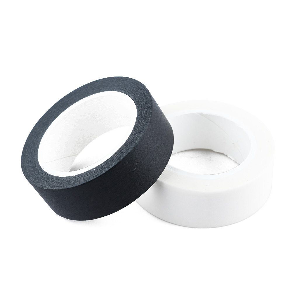 1PC White Black Paper Washi Tapes DIY Pure Solid Color 15mm*10m Masking Tape Photographic Tape Scrapbook Sticker Decorative