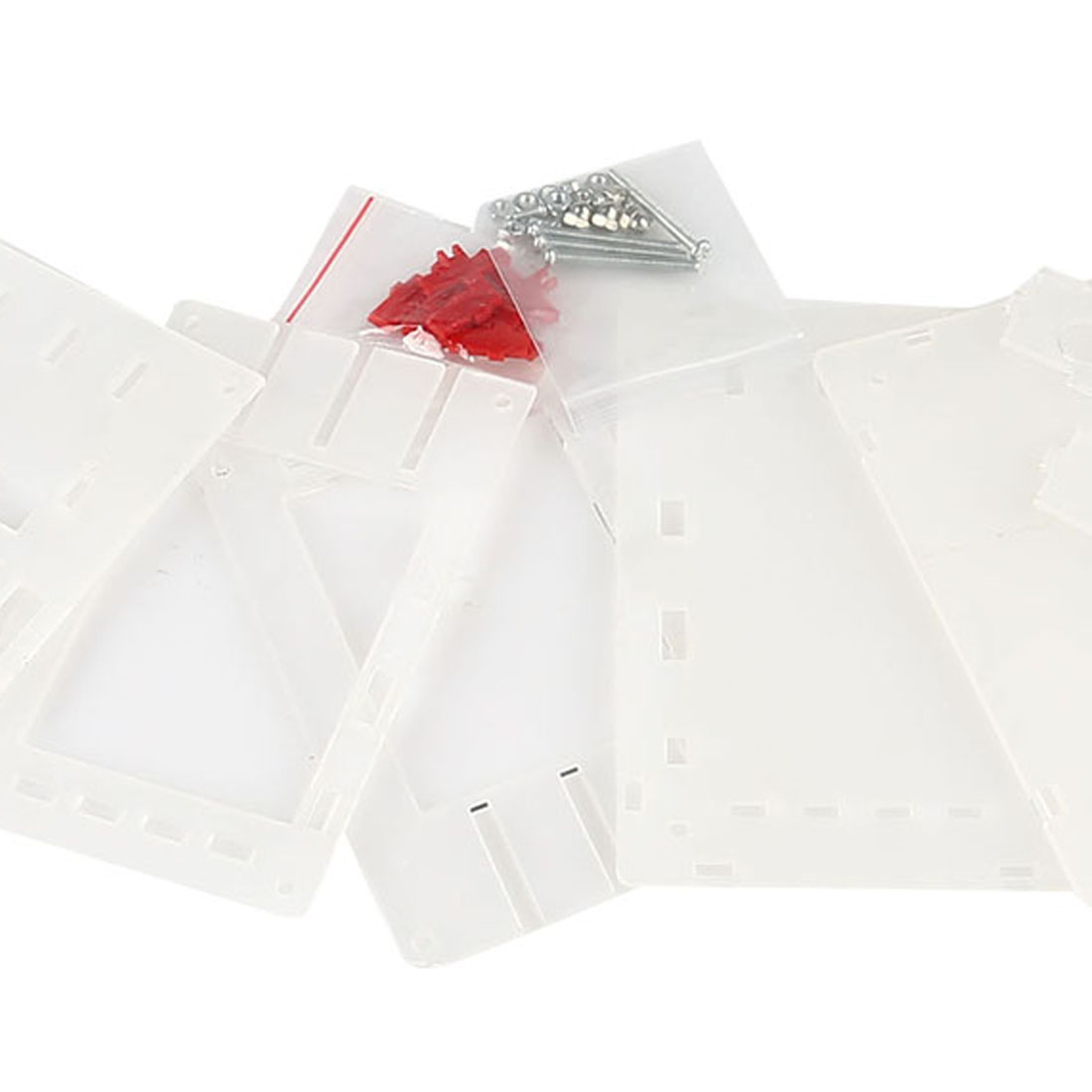 Naudingas naujas skaidraus akrilo korpuso korpusas, skirtas DSO138 2,4 colio TFT skaitmeniniam osciloskopui