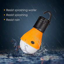 Coquimbo Multifuntional LED Outdoor Work Light Tactical 3 Modes Camping Tent Lamp Lantern Flashlight Bulb Lamp Torch With Hook