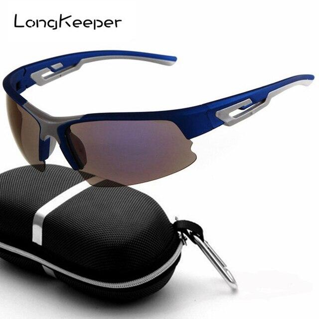 8e6f680509 LongKeeper Semi-sin montura gafas de Sol Deportivas Hombres Mujeres  Senderismo Ciclismo Bicicleta Gafas Al