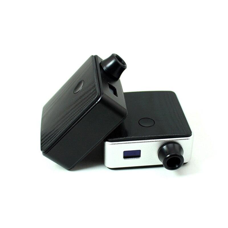 Новейшая SXK Bantam коробка мод SXK 30 Вт bb мини коробка с черным серебристым цветом bb коробка 5 мл огромный флакон модов и USB порт vape испаритель - 6