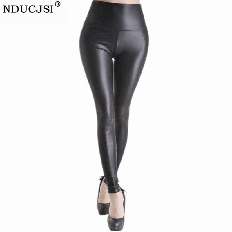NDUCJSI Sexy Legging Women High Waist Fitness Trousers Black Leggings Mujer Leggins Stretchy Push Up Legging Plus Size Pants