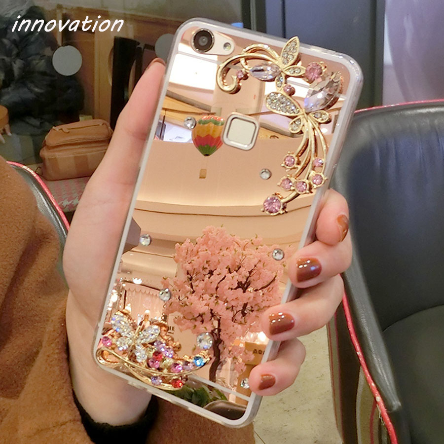 Innovation Mirror Electroplating TPU Soft Cover Cases For iphone 6Plus Phone 6s Plus Protective Bag Shell Coque