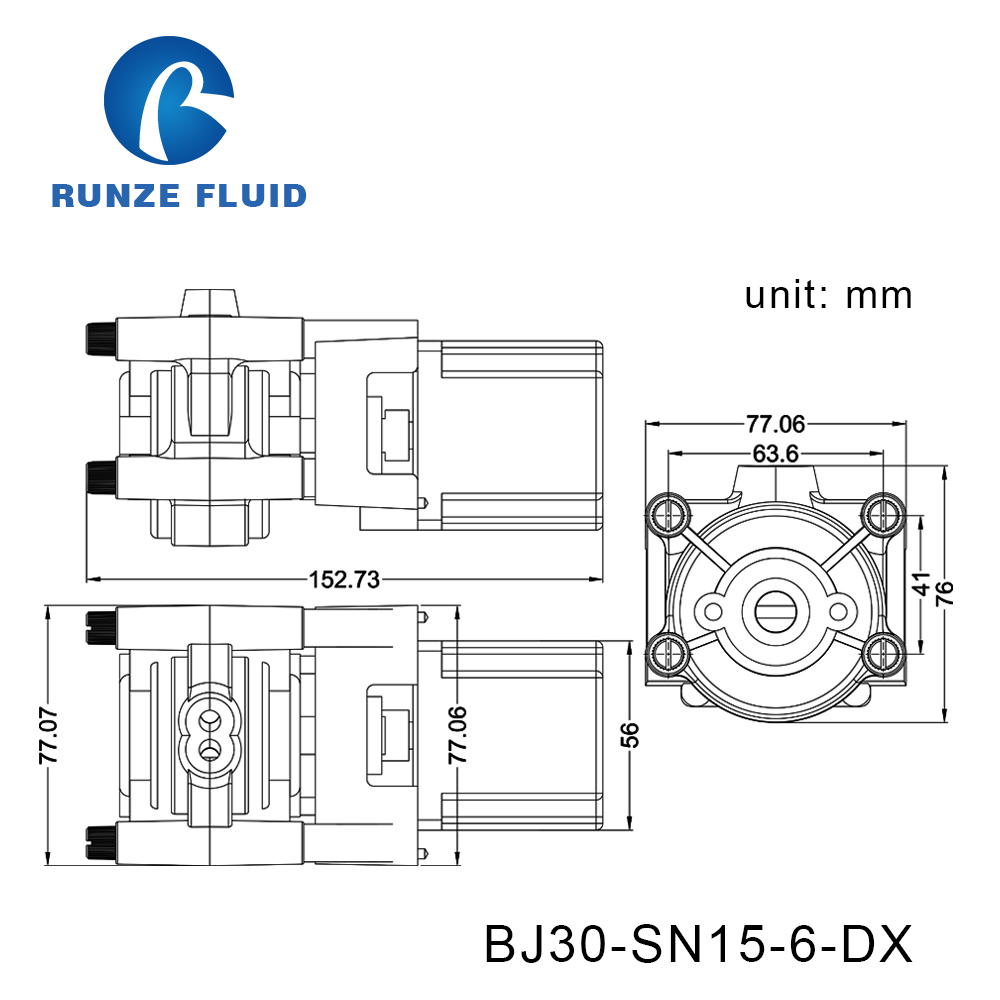 Tubing Silicon/Parmed BPT Peristaltic Liquid Pump Dosing Chemicals Laboratory - 6
