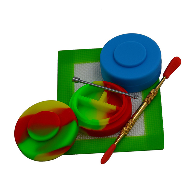 2vnt. 18ml vaistų dėžutės silikono plytelių aliejus Konteineris - Organizavimas ir saugojimas namuose
