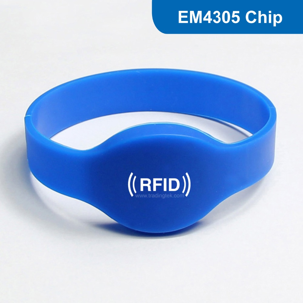 WB01 Siliocne RFID wristband Bracelet tag proximity tag RFID Smart Tag for Access Control 125KHZ 512bit R/W with EM4305 Chip wb03 silicone rfid wristband rfid bracelet proximity smart em card frequency 125khz for access control with tk4100 chip
