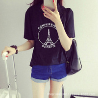ulzzang tumblr Angel kiss short sleeved tshirt womens graphic tees women JB36