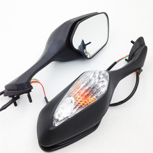 Aftermarket free shipping motorcycle parts OEM Aftermarket Turn Signal Mirror fit for   CBR1000RR CBR 1000 RR 2008-2012 BLACK