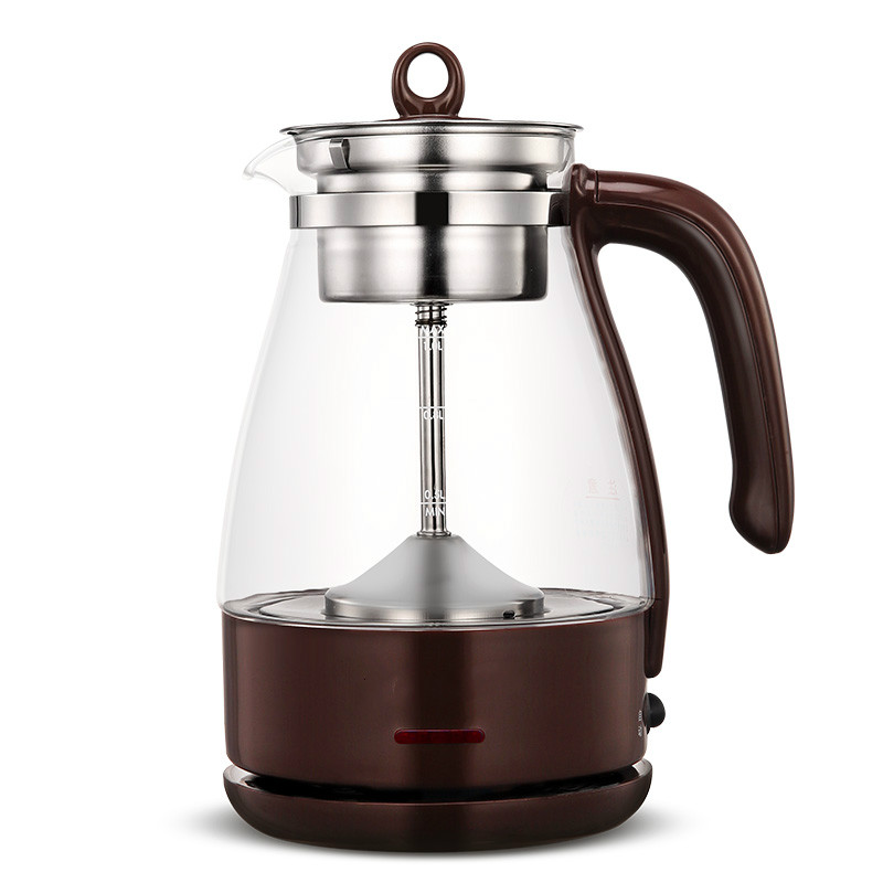 Electric kettle Brew tea pot black pu 'er glass electric steam teapot automatic heat preservation kett electric kettle tea black tea pu erh electric kettle health pot automatic insulation steam electric teapot remond