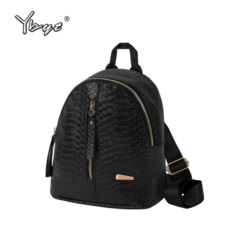 YBYT brand 2018 new vintage casual alligator women small rucksack kawaii preppy style girl schoolbag student school backpacks цена
