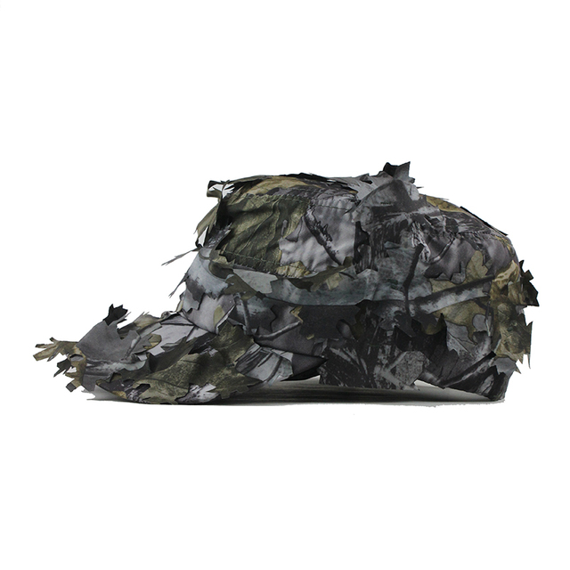 Men's Flat Cap Washed Cotton Camouflage Military Leaf