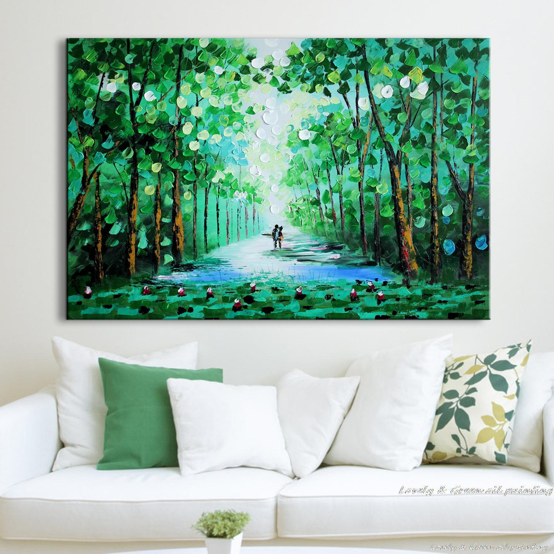 Tree Painting On Wall Room