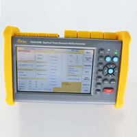 Touch screen FHO5000 T43F 1310/1550/1625nm 43/41/41dB PON OTDR Built in VFL and power meter and FLM