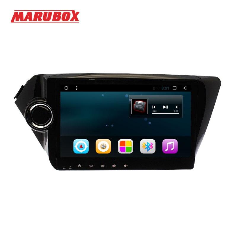 MARUBOX 9A203 T3 9 polegada android 7.1 de navegação gps do carro para Kia k2 RIO 2010-2015 quad core 1 16 gb RAM gb ROM 1024*600 no traço 2din