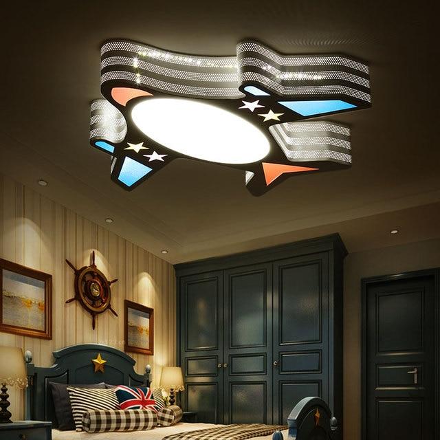 led plafond verlichting luminarias para teto kind babykamer verlichting plafond lampen moderne acryl voor woonkamer slaapkamer