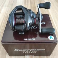 2016 NEW SHIMANO Scorpion 70 70HG 71HG 70XG 71XG RIGHT HANDLE Baitcasting Fishing Reel 6.3:1 7.2:1 190G