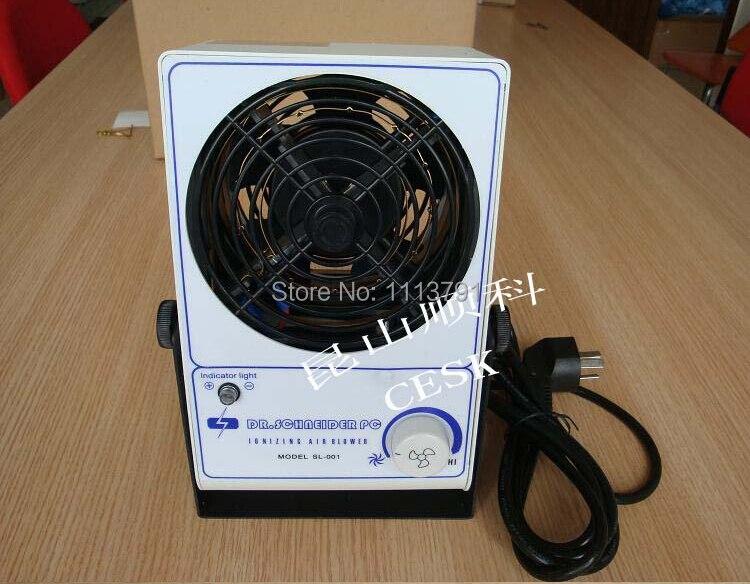 Power Tool Accessories Slade Sl-028 Static Electricity Horizontal Ion Fan Ion Fan Static Eliminator