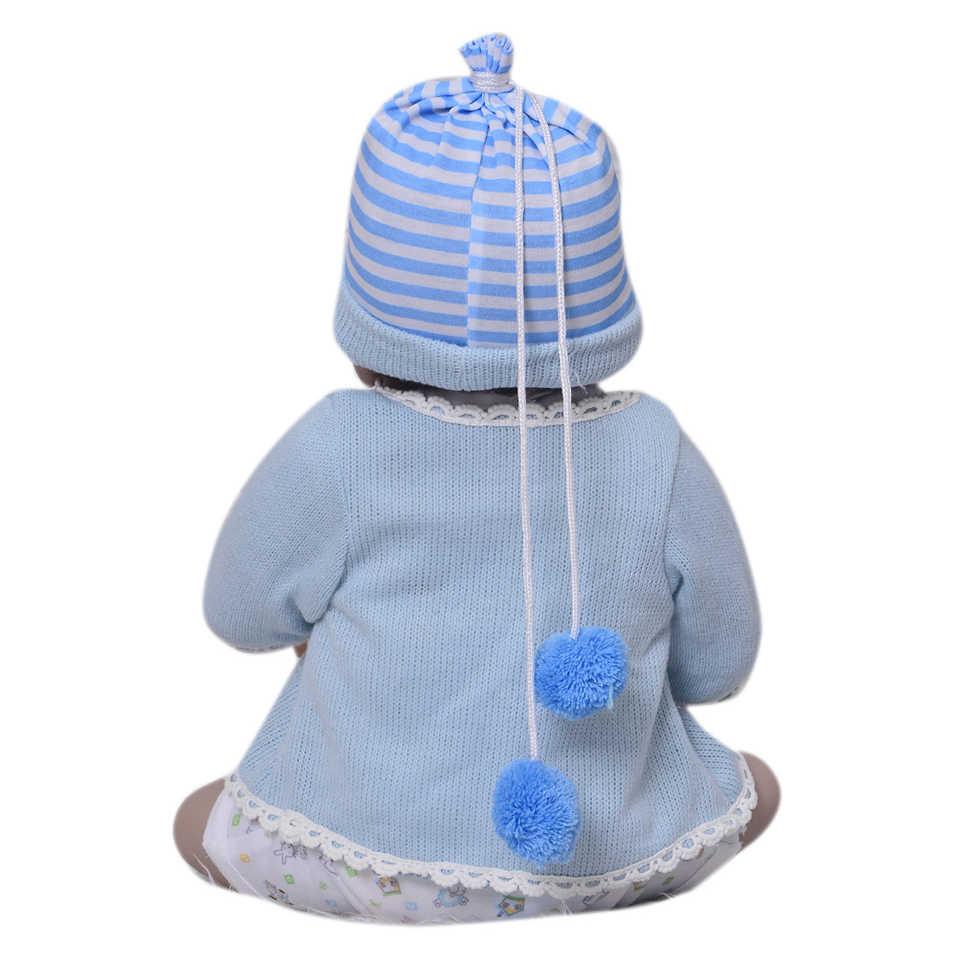 Силиконовые куклы реборн всего тела 23 ''реалистичные куклы ручной работы для маленьких мальчиков модные детские игрушки водонепроницаемые Boneca модель подарки на день рождения