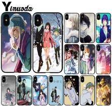 Yinuoda Anime Yukine Noragami Nieuwigheid Fundas Telefoon Case Cover voor Apple iPhone 8 7 6 6S Plus X XS MAX 5 5S SE XR Mobiele Cover(China)