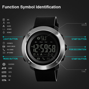 Image 5 - SKMEI אופנה Bluetooth ספורט שעונים גברים נשים דיגיטלי שעון זוג הודעה שיחת תזכורת מזדמן אלקטרוניקה זכר שעון reloj