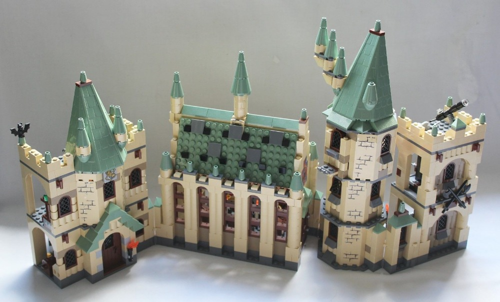 Lepin 16030 Hogwarts Castle building bricks blocks Toys for children boys Game Model Gift Compatible with Bela 4842 10551 elves ragana s magic shadow castle building blocks bricks toys for children toys compatible with lego gift kid set girls