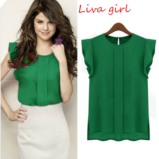 Women Chiffon Blouse – 3 Colors To Choose From