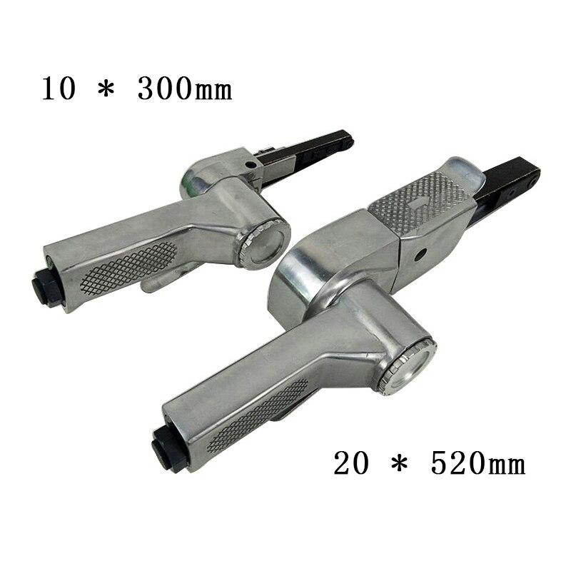 Linear 7100 10mm Pneumatic Air Belt Sander Drawing Machine Polishing Grinding Die casting Aluminum Tools