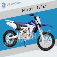 1 12 Scale New Yamaha YZ450F Metal Diecast Model Motorcycle Motorbike Racing Cars Toys Boys Vehicle