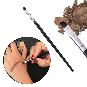 Angled Eyebrow Brush Gel Eyeliner Brush Makeup Brushes Beauty Blending Eye Professional Make Up Bevel Brush Tools for Eye Brow недорого