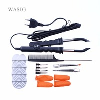 Professional Variable Heat Control FLAT PLATE Fusion Hair Extension Keratin Bonding Salon Tool Heat Iron Wand