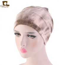 New Tie-dyed Modal  Sleep Cap For Hair Loss Home Head Cover Chemo Women