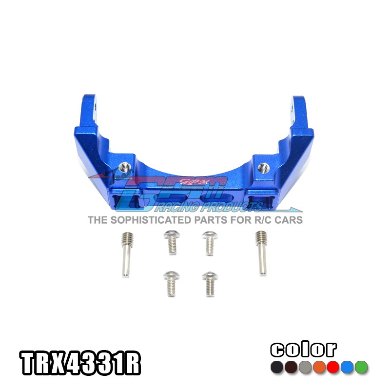 TRAXXAS TRX-4 TRX4 82056-4 Alloy rear bumper pump holder mount high stable -set TRX4331R free shipping traxxas trx 4 trx4 82056 4 alloy adapters front rear all can use hex 17mmsix angle 19mm long set trx4 17x19 2