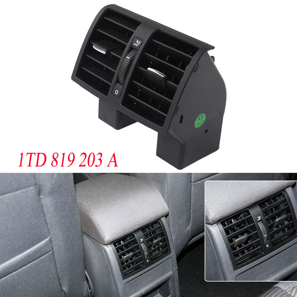 ysm-black-center-console-rear-ac-air-conditioning-outlet-vent-for-vw-caddy-touran-2004-2015-1td819203a-1t0-819-203-a-1td-819-203